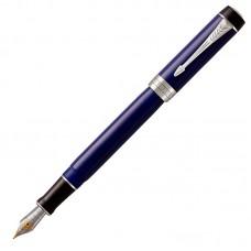 Перьевая ручка Parker (Паркер) Duofold Centennial Classic Blue & Black CT F