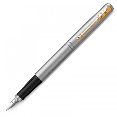 Перьевая ручка Parker (Паркер) Jotter Core Stainless Steel GT M