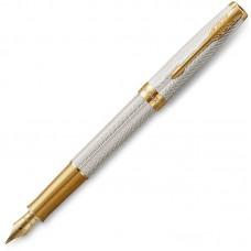 Перьевая ручка Parker (Паркер) Sonnet Fougere серебро 925 пробы GT F