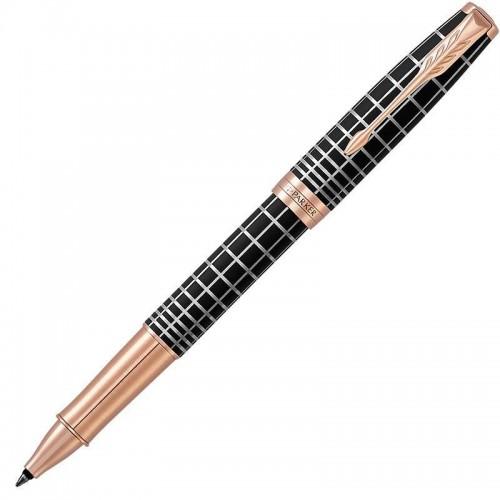 Ручка-роллер Parker (Паркер) Sonnet Premium Brown Rubber PGT
