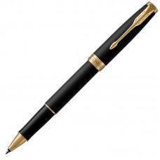 Ручка-роллер Parker (Паркер) Sonnet Core Matte Black Lacquer GT