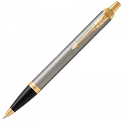 Шариковая ручка Parker (Паркер) IM Core Brushed Metal GT
