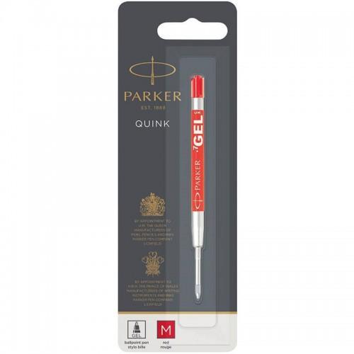 Красный гелевый стержень Parker (Паркер) Gel Pen Refill M