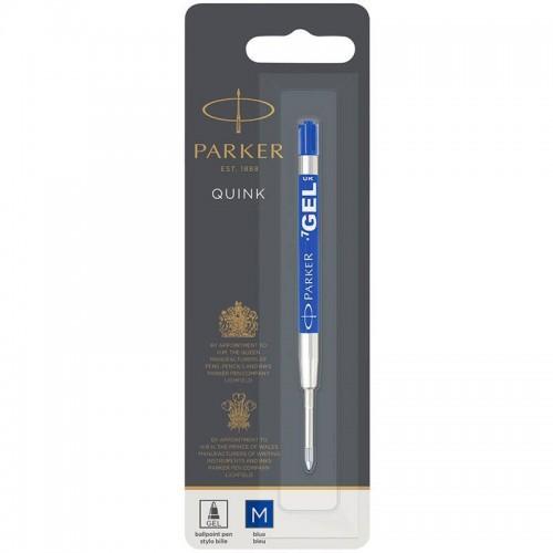 Синий гелевый стержень Parker (Паркер) Gel Pen Refill M